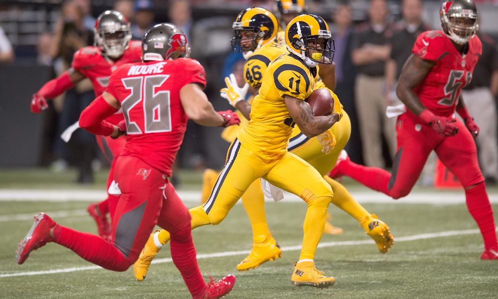 12971d493d4 Top Ten NFL Color Rush Uniforms | SportsPress