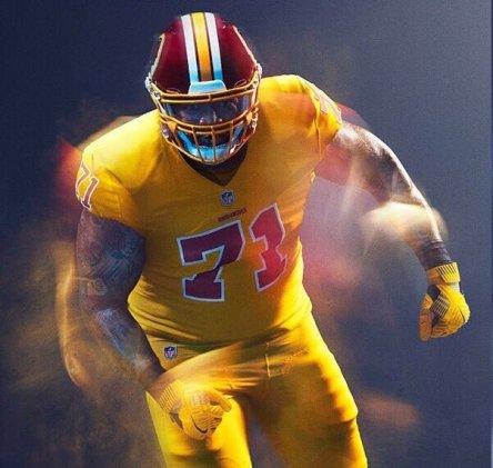 Top Ten NFL Color Rush Uniforms – SportsPress